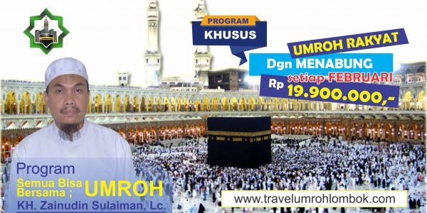 Travel Umroh Lombok Program Khusus Bersama Stadz Zein 2